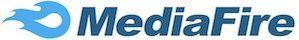Flamme in blau mit Logo in dunkelblau