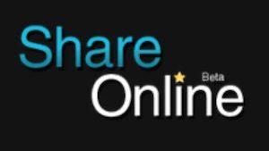Share-Online.bit Logo in schwarz