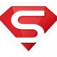 """Logo mit einem weißen """"S"""" auf rotem Grund"""
