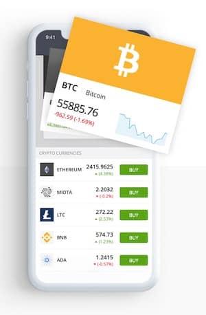Bitcoin Trading eToro