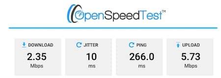 NordVPN USA Speed Test
